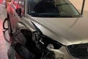 Thanh niên nghi ngáo đá lái ôtô tông hàng loạt xe trong hầm Hải Vân