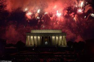 Nước Mỹ mừng Quốc khánh hoành tráng 'có một không hai'