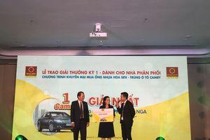 Hoa Sen tặng ô tô Camry cho nhà phân phối, đại lý mua ống nhựa