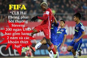 Clip gây sốc khiến FIFA phạt CLB Hải Phòng 200 ngàn USD