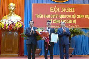 Đồng chí Đặng Quốc Khánh giữ chức Bí thư Tỉnh ủy Hà Giang