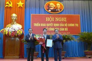 Đồng chí Đặng Quốc Khánh được điều động, bổ nhiệm chức vụ Bí thư Tỉnh ủy Hà Giang