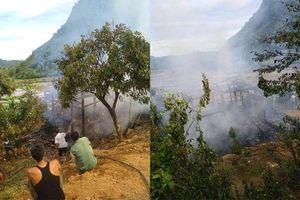 Sơn La: Nghịch lửa tại đống rơm cháy luôn nhà