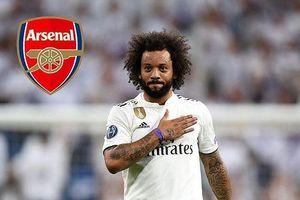 Nằng nặc đòi chia tay Real, Marcelo sẽ gia nhập Arsenal?