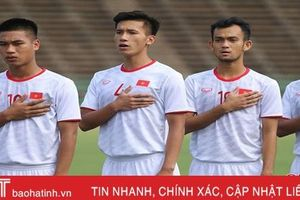 2 cầu thủ Hồng Lĩnh Hà Tĩnh được HLV Park Hang-seo triệu tập vào U23 Việt Nam