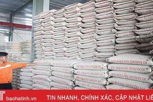 Công bố giá vật liệu xây dựng quý II/2019 trên địa bàn Hà Tĩnh