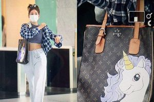 Gà cũ nhà JYP - Jeon Somi khiến fan ngỡ ngàng khi biến tấu tài tình lên chiếc túi hiệu đắt đỏ
