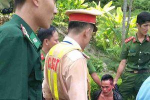 Khống chế nam thanh niên lái 'xế hộp' gây tai nạn liên hoàn trong hầm Hải Vân
