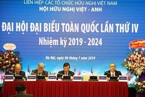 Thứ trưởng Bộ Công Thương Hoàng Quốc Vượng được bầu làm Chủ tịch Hội Hữu nghị Việt – Anh