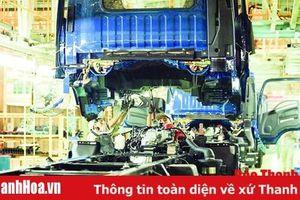 Sản xuất công nghiệp tăng trưởng 48,7% so với cùng kỳ