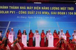 Nhà máy điện Mặt trời 3.000 tỷ ở An Giang đi vào hoạt động