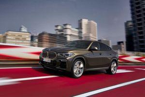BMW X6 phiên bản 2020 ra lò tại Mỹ, thể thao và 'hầm hố' hơn