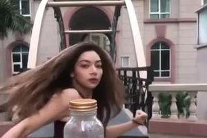Hotgirl nhà chưởng môn Vịnh Xuân Nam Anh đá nắp chai gây sốt MXH