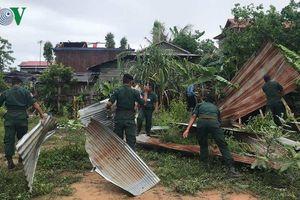 Lốc xoáy làm sập hàng trăm ngôi nhà tại tỉnh Banteay Meanchey