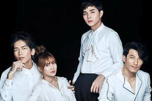 Lan Ngọc diện vest không nội y, cực đáng yêu trong bộ ảnh với dàn sao nam 'Running Man Việt Nam'