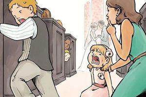 Trẻ phá phách tại đám cưới: 'Cha mẹ không dạy được đừng đổ thừa con'