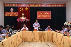 Thông tin chính thức vụ việc người dân chiếm đất trái pháp luật tại Kon Tum