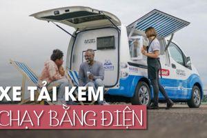 Vừa giải nhiệt mùa hè, vừa giảm ô nhiễm môi trường nhờ xe bán kem dùng động cơ điện