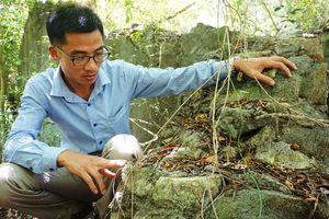 Dấu tích những công trình nghỉ dưỡng của người Pháp trên núi Trường Lệ ở Sầm Sơn