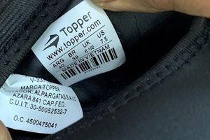 Hải Phòng điều tra vụ giày từ Trung Quốc gắn nhãn 'MADE IN VIET NAM'