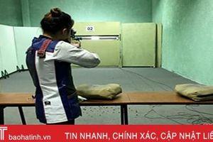 Hà Tĩnh giành 2 huy chương tại Giải Vô địch bắn súng trẻ quốc gia 2019