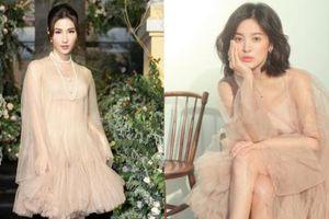 Đụng váy với Song Hye Kyo, Diễm My 'can tâm' nhận mọi sự so sánh