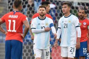 Messi bị thẻ đỏ, từ chối nhận huy chương đồng Copa America 2019 cùng Argentina