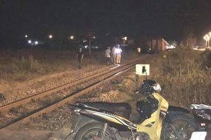 Nam thanh niên chết thảm vì bị tàu hỏa tông trong đêm