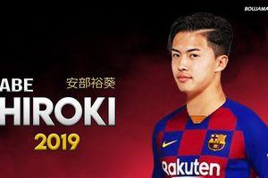 Thêm một thần đồng bóng đá Nhật đầu quân cho Barca