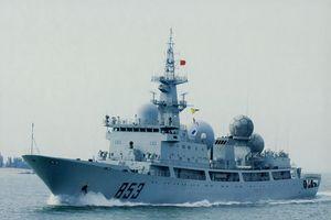 Nghi Trung Quốc điều tàu chiến do thám tập trận Úc-Mỹ-Nhật