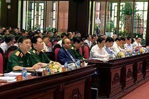 Khai mạc Hội nghị Quân chính toàn quân 6 tháng đầu năm 2019