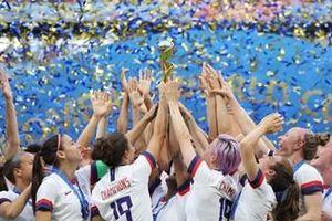 Đội tuyển Mỹ lần thứ tư lên ngôi vô địch World Cup bóng đá nữ