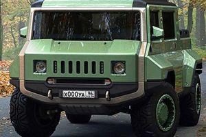 Xe H-UAZ off-road của Nga đẹp và hầm hố hơn cả Hummer