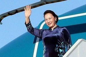 Chủ tịch Quốc hội Nguyễn Thị Kim Ngân lên đường thăm chính thức Trung Quốc