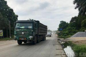 Xe quá tải 'tung hoành' tại nhiều tuyến đường trên cả nước
