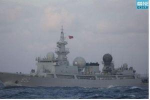 Trung Quốc điều tàu do thám theo dõi cuộc tập trận Úc-Mỹ?