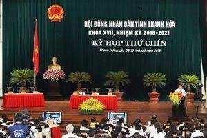 Thanh Hóa: Khai mạc kỳ họp thứ 9 HĐND tỉnh khóa XVII