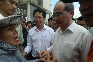 Bí thư Nguyễn Thiện Nhân:Sắp trình HĐND TPHCM chính sách cho người dân Thủ Thiêm