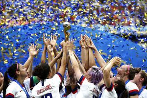 New York tổ chức diễu hành mừng chiến thắng của đội tuyển bóng đã nữ Mỹ
