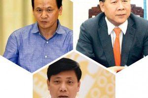 Kỷ luật 3 Thứ trưởng Bộ GTVT và loạt quan chức cấp cao khác