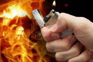 Phóng hỏa đốt nhà do mâu thuẫn tình cảm