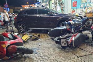 Danh tính nữ tài xế Mercedes gây tai nạn liên hoàn ở Sài Gòn