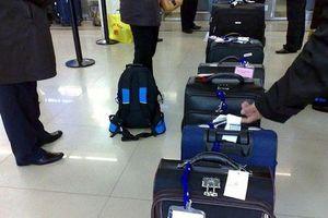Từ ngày 1/8, hành khách được xách hành lý 12kg lên máy bay