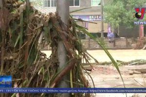 Mưa lớn gây lũ lụt tại Trung Quốc
