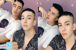 Lê Dương Bảo Lâm đăng hình selfie bên Kelvin Khánh, ông xã Khởi My chiếm trọn spotlight vì ngoại hình ngầu bất ngờ