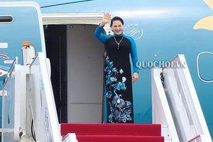 Chủ tịch Quốc hội Nguyễn Thị Kim Ngân đến thành phố Nam Kinh, bắt đầu chuyến thăm chính thức Trung Quốc