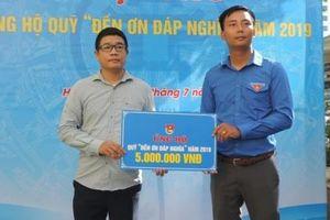 Thành đoàn Hà Nội tổ chức hội thu ủng hộ quỹ 'Đền ơn đáp nghĩa' năm 2019