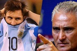 HLV trưởng Brazil và các sao 'tổng tấn công' Messi