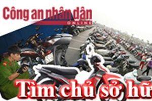 Công an phường Xuân Đỉnh tìm chủ sở hữu xe