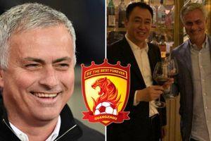 Jose Mourinho từ chối đề nghị 'siêu khủng' của đội bóng Trung Quốc